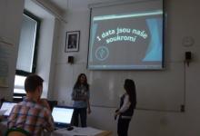 Kája Szczygielová a Naty Jurčová - prezentace